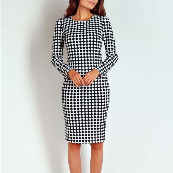 Style & Co Dresses & Skirts - 🔵Style & Co. Black & White Checkered Dress